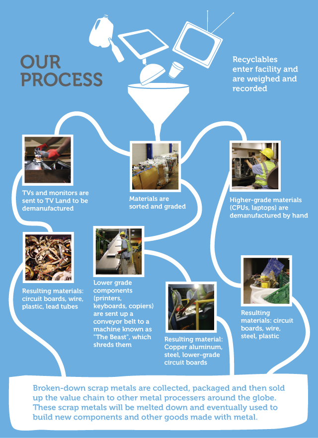 Our Process Infographic